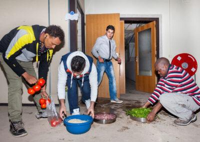 The Camp | project door de Academie van Beeldvorming ism Noodopvang Rosmalen | Mike Harris Fotografie ©