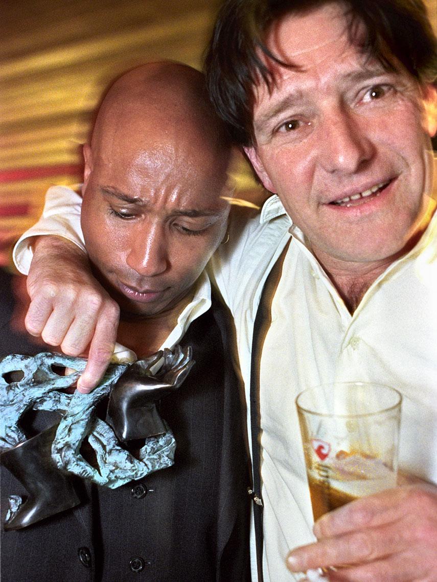 Rayme Sambo en Pierre Bokma | portrait photography | Mike Harris Photography