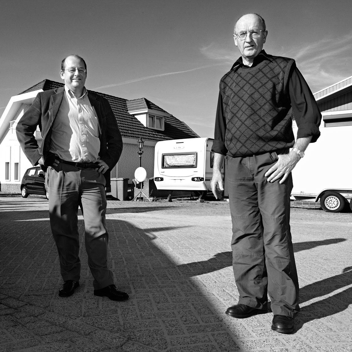Ber van Rooij en Ad van Kreij | portrait photography | Mike Harris Photography